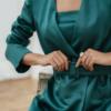 chaqueta Greta Verde de Chiribita